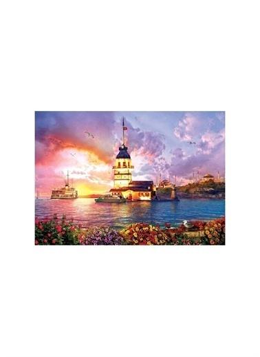 Art Puzzle Art Puzzle Kız Kulesi 1000 Parça Kutu Puzzle Renksiz